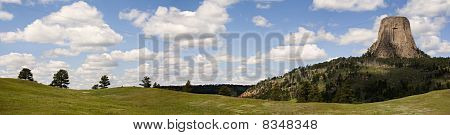 Devils Tower Panoramic
