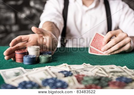Gangster. Poker.