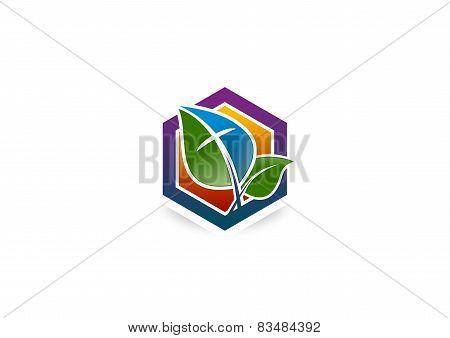 cross spiritual logo
