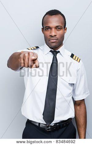 Serious Pilot.