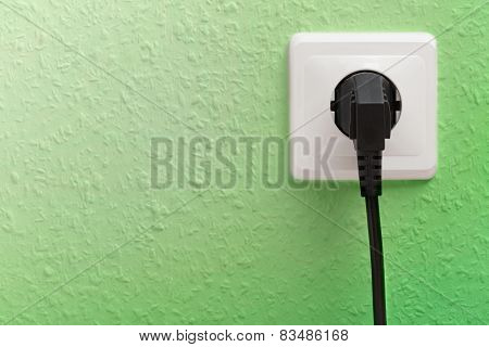 Single Electric Socket With Plug