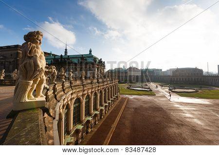 Statue In Zwinger, Dresden