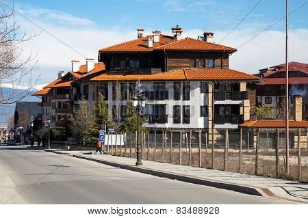 Street view in Bansko