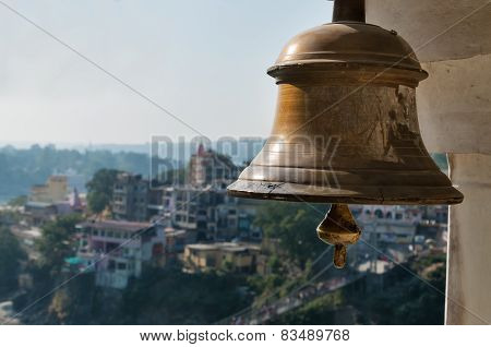 Bell In Indian Temple