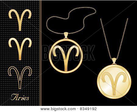 Aries Medallion & Pendant