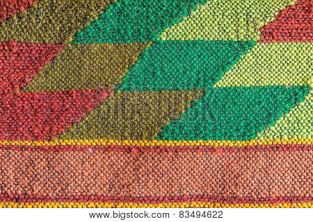 Colored Handmade Fabric