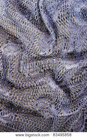 Folded Lacy Background