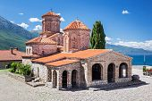 foto of macedonia  - Saint Naum Monastery near Ohrid in Macedonia - JPG