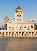 picture of sikh  - Gurdwara Bangla Sahib is the most prominent Sikh gurdwara - JPG