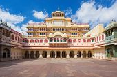 pic of palace  - Chandra Mahal Palace  - JPG
