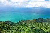 foto of langkawi  - View of Langkawi island from observation deck - JPG