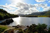 stock photo of ireland  - The Lakes of Killarney are a renowned scenic attraction located near Killarney - JPG