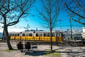 picture of tram  - Budapest - JPG