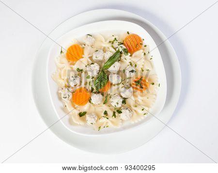 Chicken Meatball Soup