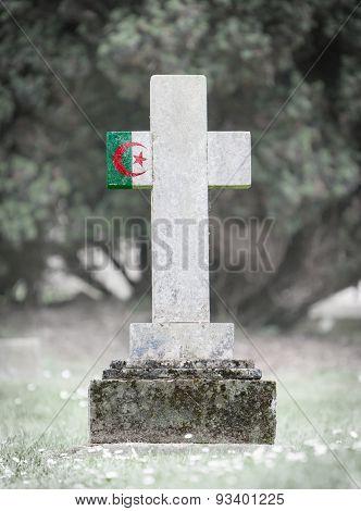 Gravestone In The Cemetery - Algeria