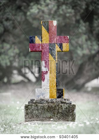 Gravestone In The Cemetery - Maryland
