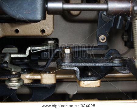 Inside An Old Typewriter