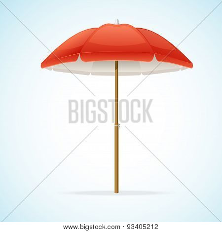 Vector Beach Umbrella