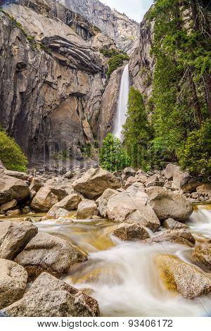 Yosemite Lower Fall