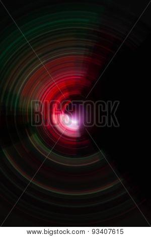 spiral radial motion blur background