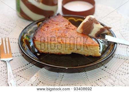The Cottage Cheese Casserole