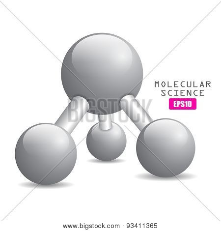 Molecular science icon