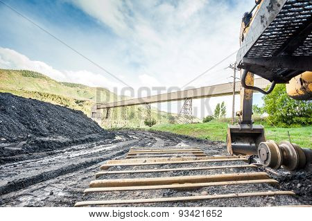 Mining Machines, Coal And Infrastructure