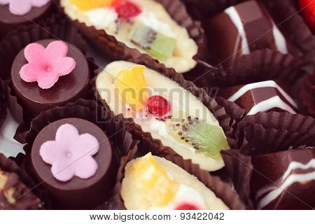 Small Cakes With Diferrent Stuffing