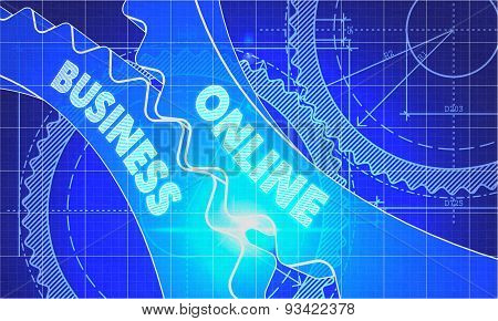 Online Business on Blueprint of Cogs.