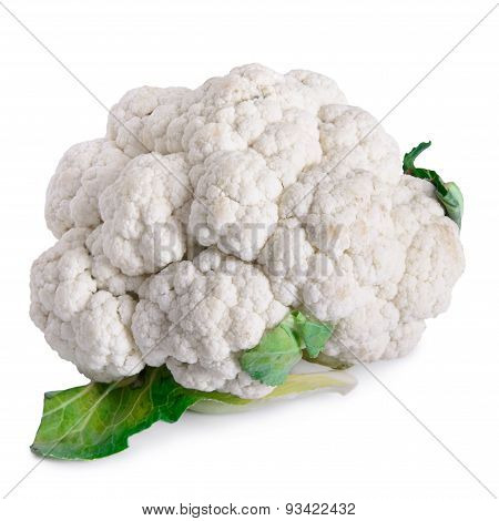 Vegetable Cauliflower Isolated