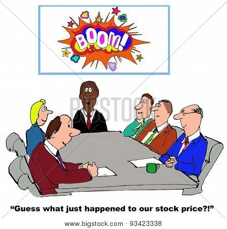 Increasing Stock Price