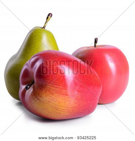 Two Apples And Pear