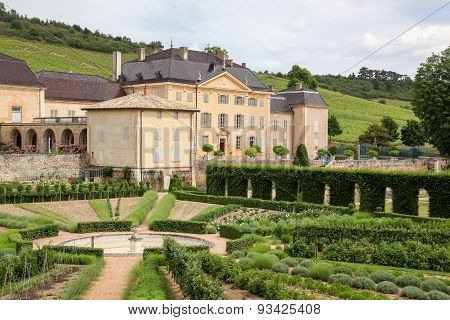 castle of La Chaize in Odenas, Beaujolais