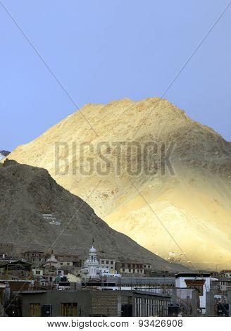 Leh City In Ladakh Region, India