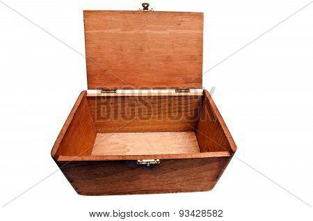 Vintage Wooden Empty Box