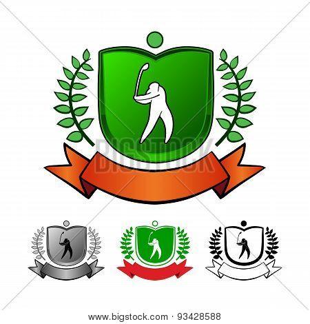 Golf Emblems Set