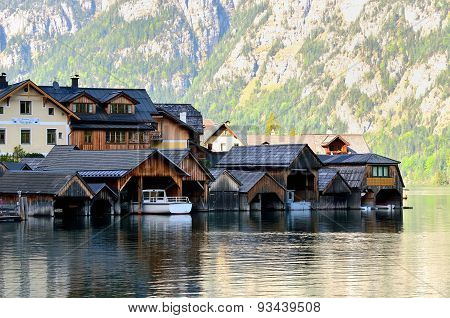 Lake Hallstatter in Austria.