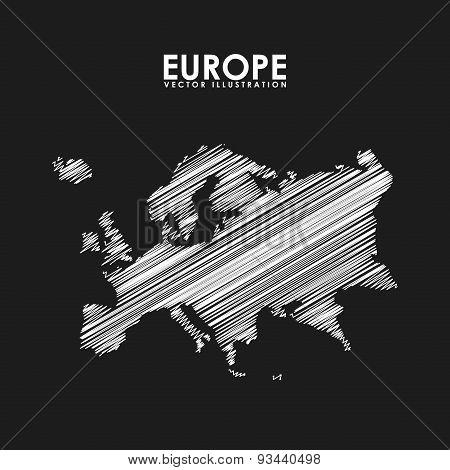europe map design