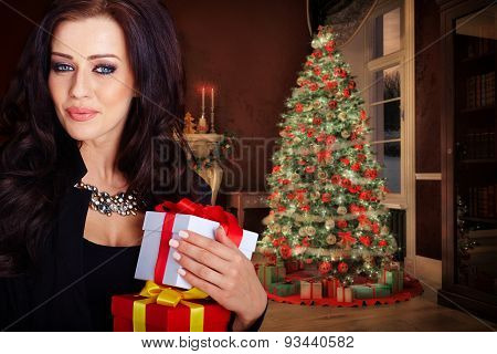 holidays, celebration and people concept
