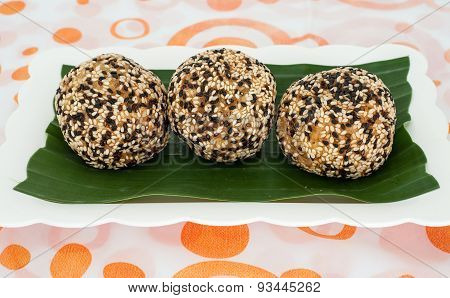 Thailand Dessert, Sesame Balls