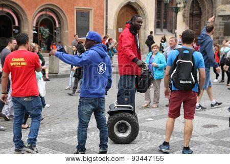 Ticket Vendors On The Street