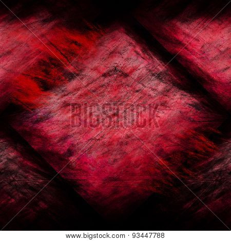 grunge red old wall  background