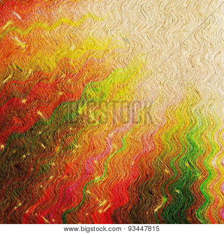 colored rays and stars on grunge paper