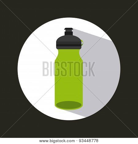gym water bottle icon