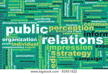 Public Relations or PR as a Marketing Concept