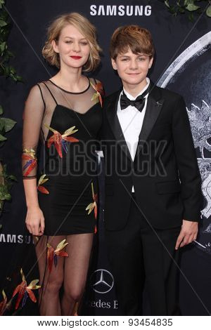 LOS ANGELES - JUN 9:  Ryan Simpkins, Ty Simpkins at the