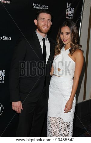 LOS ANGELES - JUN 12:  Bryan Greenberg, Jamie Chung at the