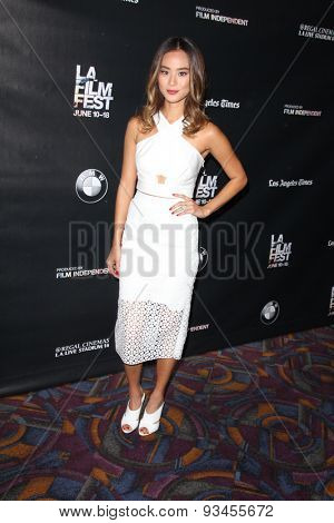 LOS ANGELES - JUN 12:  Jamie Chung at the