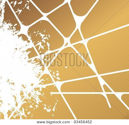 Designed abstract background