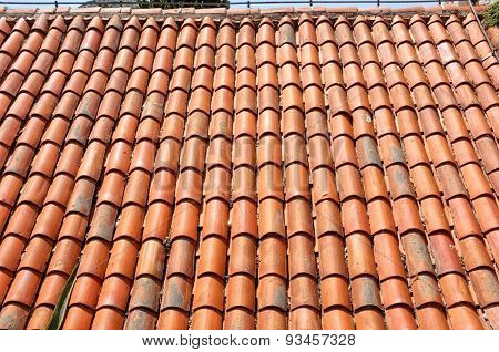 a new roof tiles pattern